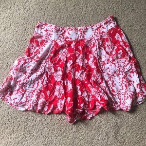 Free People Fabric Shorts
